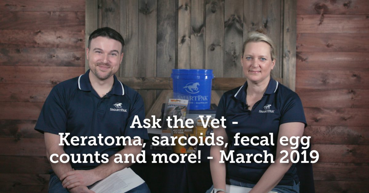 Ask the Vet – Keratoma, sarcoids, fecal egg counts and more! – March 2019  Ask the Vet – Keratoma, sarcoids, fecal egg counts and more! – March 2019 Ask the Vet Keratoma sarcoids fecal egg counts and more March 2019 thumb 1200x628