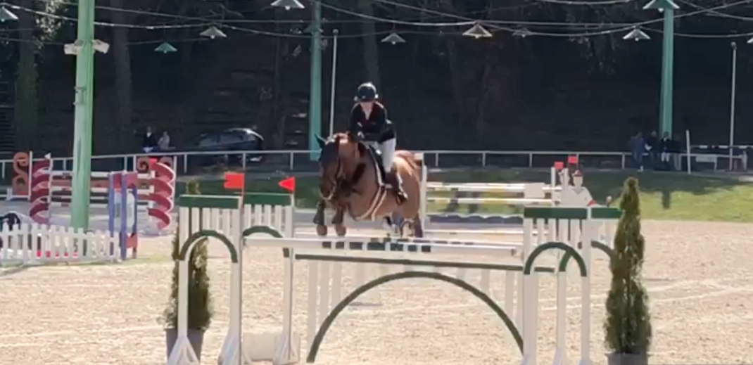 Kirstie Leightley's worldwide showjumping vlog: on flying type in France  Kirstie Leightley's worldwide showjumping vlog: on flying type in France Screen Shot 2019 03 14 at 15