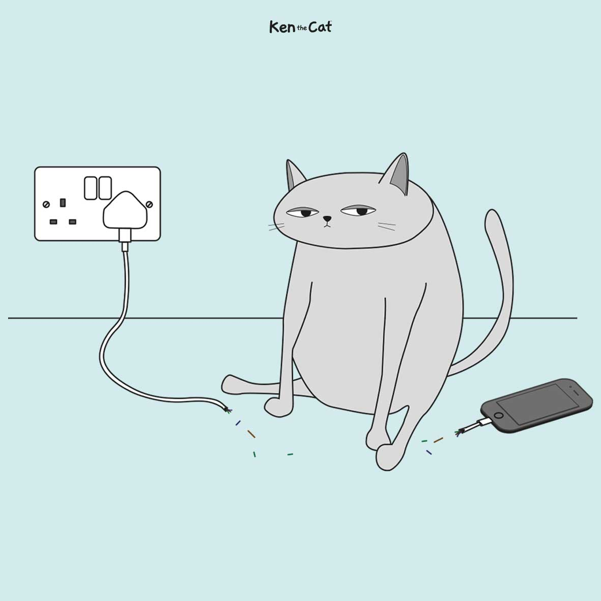 Ken the Cat: As a result of Cats are Pricks, however we Love Them for it Episode 4  Ken the Cat: As a result of Cats are Pricks, however we Love Them for it Episode 4 2019 08 16 Phone Charger