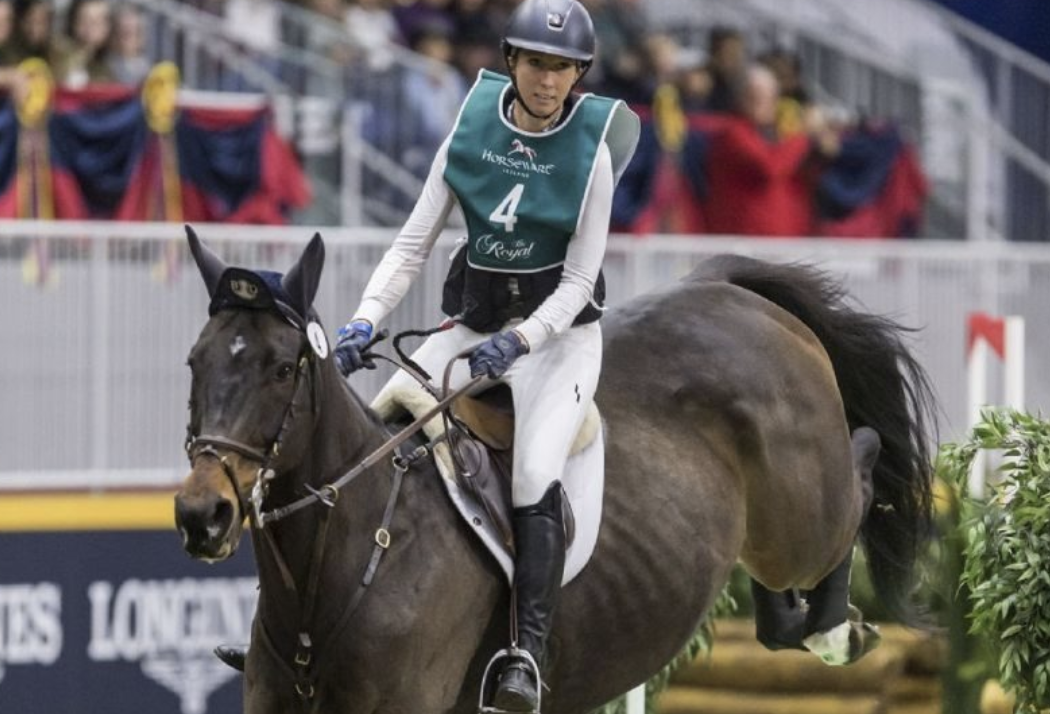 Kendal Lehari Takes First Round of the Horseware Indoor Eventing Challenge at The Royal  Kendal Lehari Takes First Round of the Horseware Indoor Eventing Challenge at The Royal Screen Shot 2019 11 02 at 9