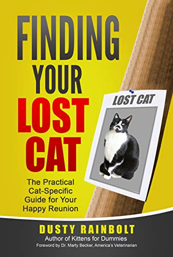 BOOK REVIEW: FINDING YOUR LOST CAT, New From Dusty Rainbolt  BOOK REVIEW: FINDING YOUR LOST CAT, New From Dusty Rainbolt finding your lost cat