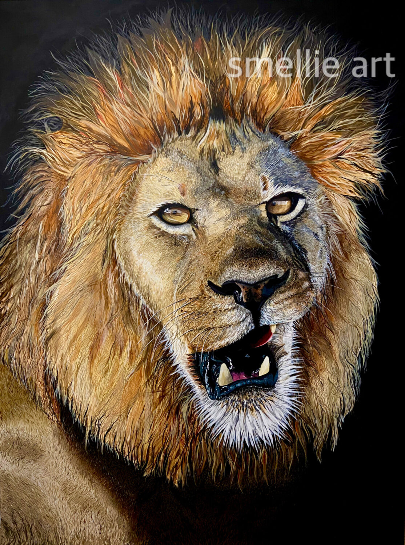 "Friday Artwork Cat: ""The Lion"" by Smellie Artwork  Friday Artwork Cat: ""The Lion"" by Smellie Artwork B57A58C7 D2DC 4229 9379 A9A7A5254119 1114x1500"