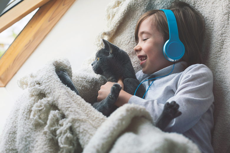 Pets Could Assist With Autism Stress  Pets Could Assist With Autism Stress Boy cat Stress getty1220413420