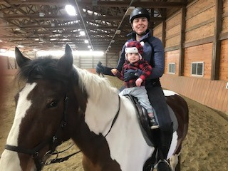 My So-Referred to as Equestrian Mother Life   My So-Referred to as Equestrian Mother Life  Baby BH 4