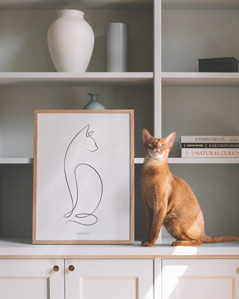 Reward Your self One in every of These Animalist Pet Portraits  Reward Your self One in every of These Animalist Pet Portraits 2101 Abyssinian Line Black