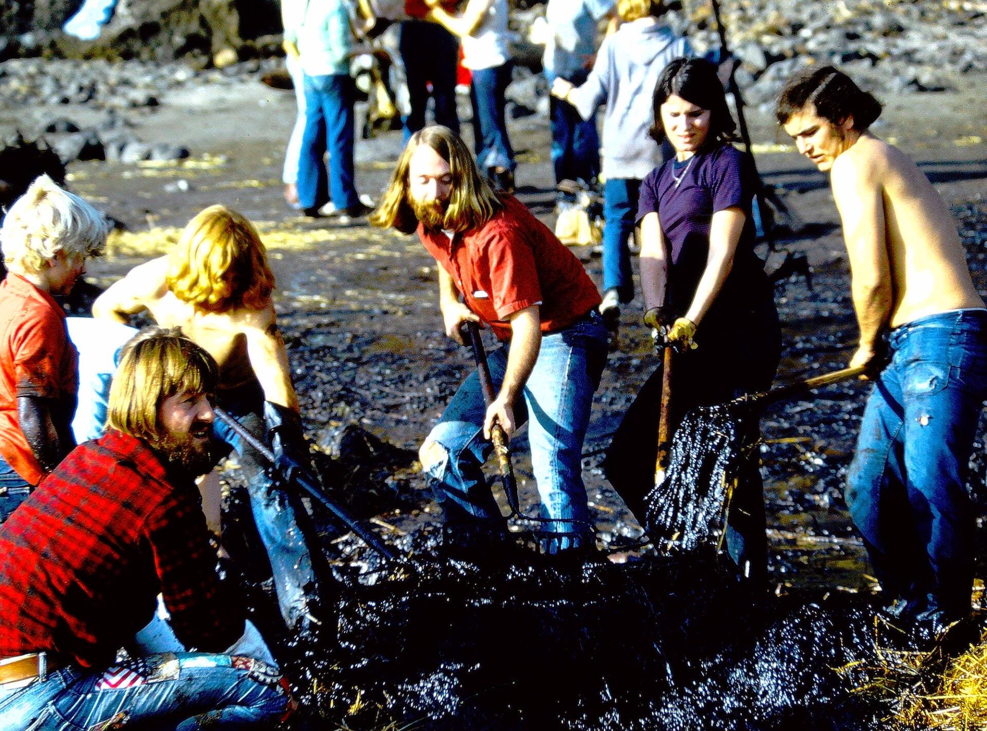 50 Years Of Volunteer Spirit – Worldwide Chicken Rescue  50 Years Of Volunteer Spirit – Worldwide Chicken Rescue 1971 Volunteers Clean Beach