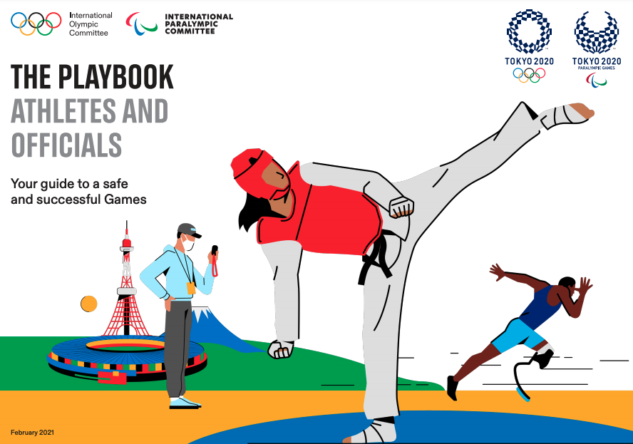 Tokyo 2020 Replace: Official Playbooks Outlining Athlete Protocol Launched  Tokyo 2020 Replace: Official Playbooks Outlining Athlete Protocol Launched Screen Shot 2021 02 10 at 10