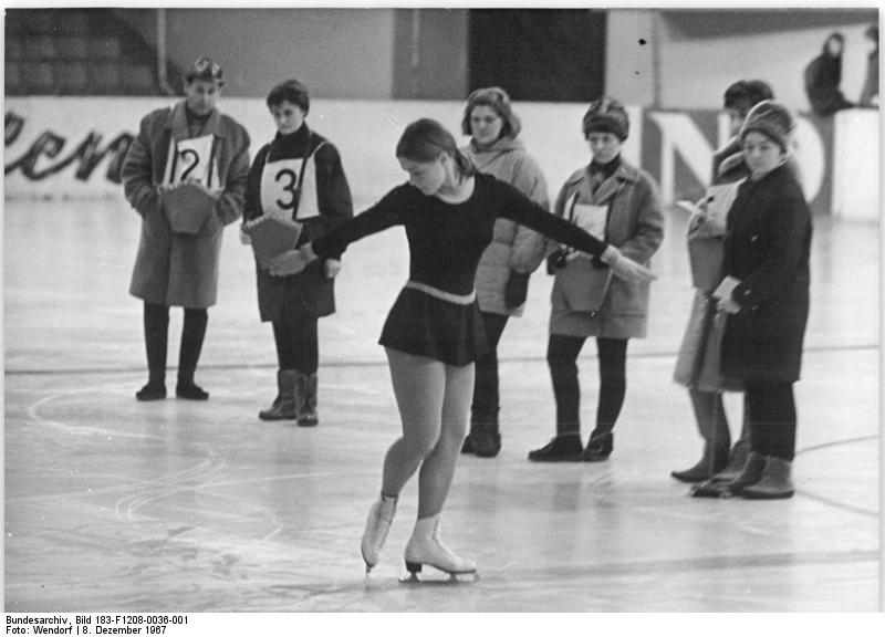 2020 Olympic Format, Half 2: Can Determine Skating Present Eventing the Solution to Fame & Fortune?  2020 Olympic Format, Half 2: Can Determine Skating Present Eventing the Solution to Fame & Fortune? Bundesarchiv Bild 183 F1208 0036 001 Gabriele Seyfert